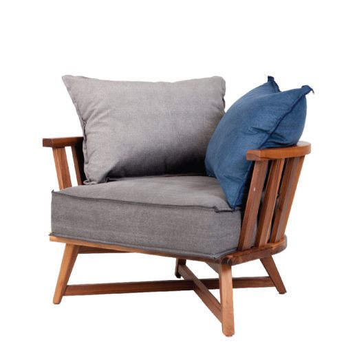 CAGE LOUNGE ARMCHAIR INCL. CUSHIONS