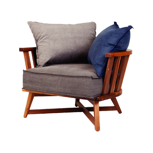 Cage Lounge Armchair Incl Cushions